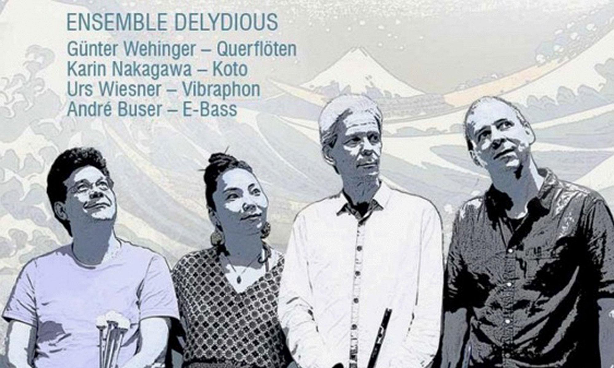 auf dem Bild ist das Musik-Ensemble «Delydious» zu sehen
